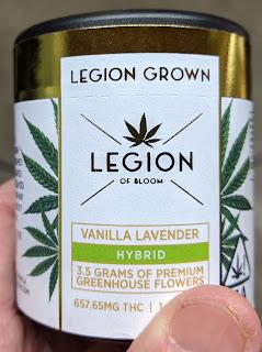 Legion Of Bloom Gold Foil Labels