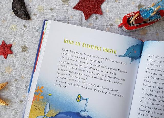 """Heute ein Buch! Die """"1-2-3 Minuten-Geschichten: Kunterbunte Weihnachten"""" und das Vorlesen in der Weihnachtszeit. Wir lesen unsere Lieblings-Weihnachtsgeschichte vor, die wunderbar maritim ist."""
