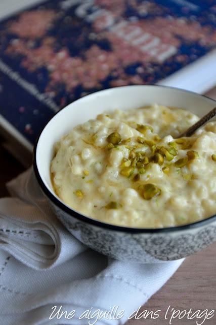 Riz au lait aux épices (Sheer berenj), de Sabrina Ghayour