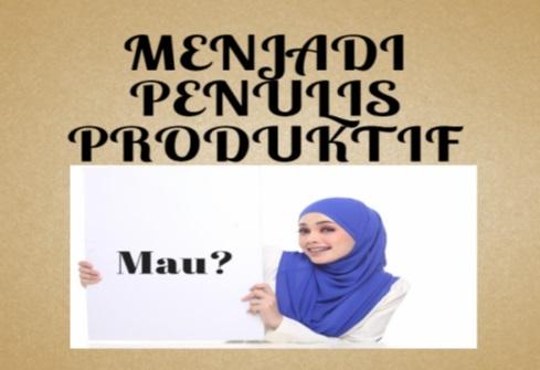 Workshop Menulis Produktif  Pemuda Kahfi Bersama Ernawati Lilys