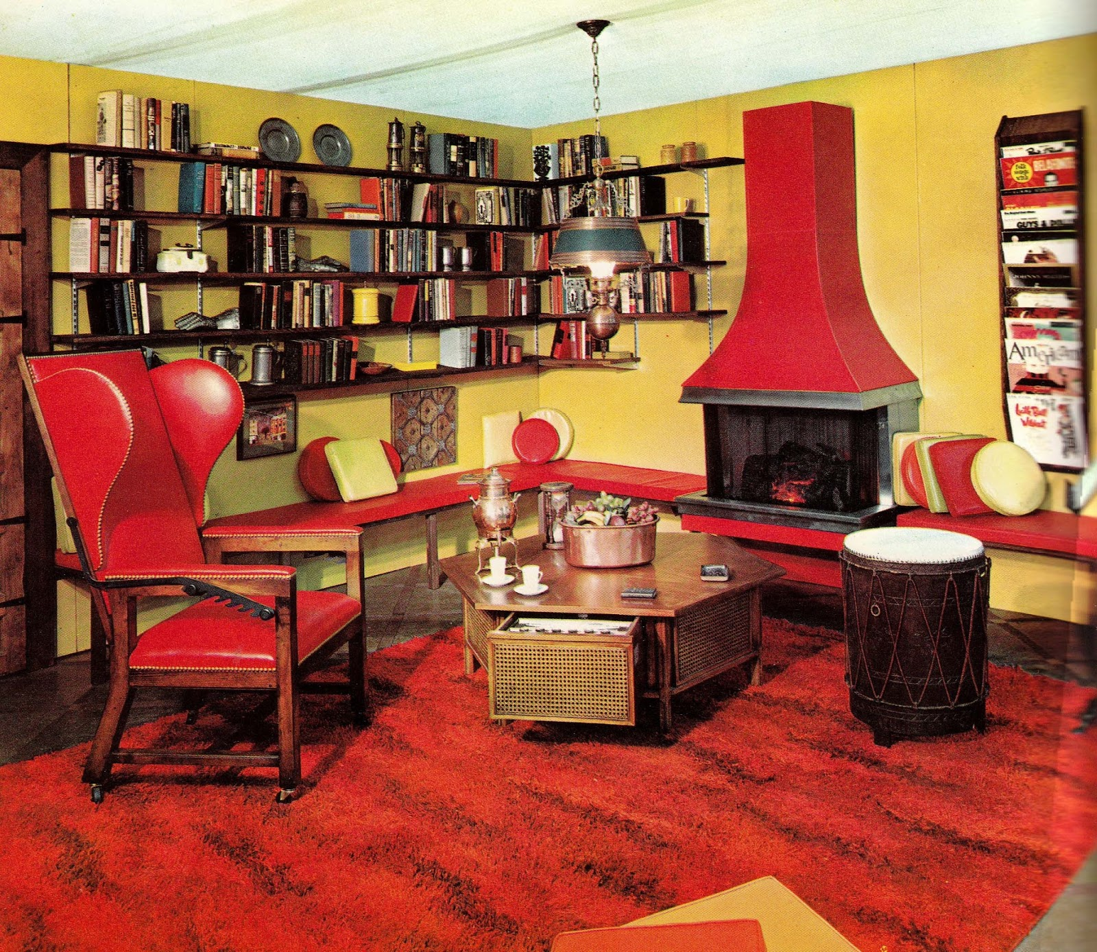 Decoration Design: 1960s Interior Décor: The Decade Of Psychedelia Gave Rise