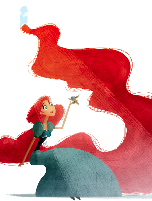 Sketch Dailies: Repunzel Repunzel...