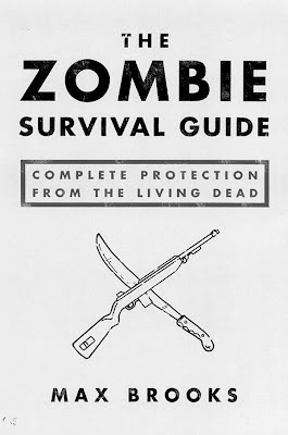 The Zombie Survival Guide by Max Brooks - book cover