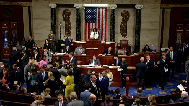 Cámara de Representantes no logra poner fin a emergencia en EEUU