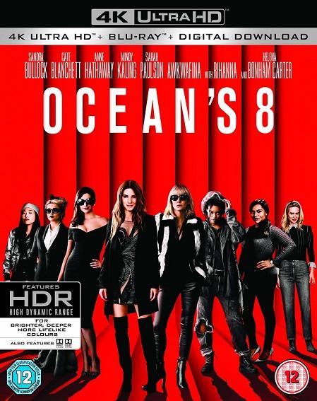 Ocean's 8: Las Estafadoras 4K(2018) 2160p 4K UltraHD HDR BluRay REMUX 51GB mkv Dual Audio Dolby TrueHD ATMOS 7.1 ch