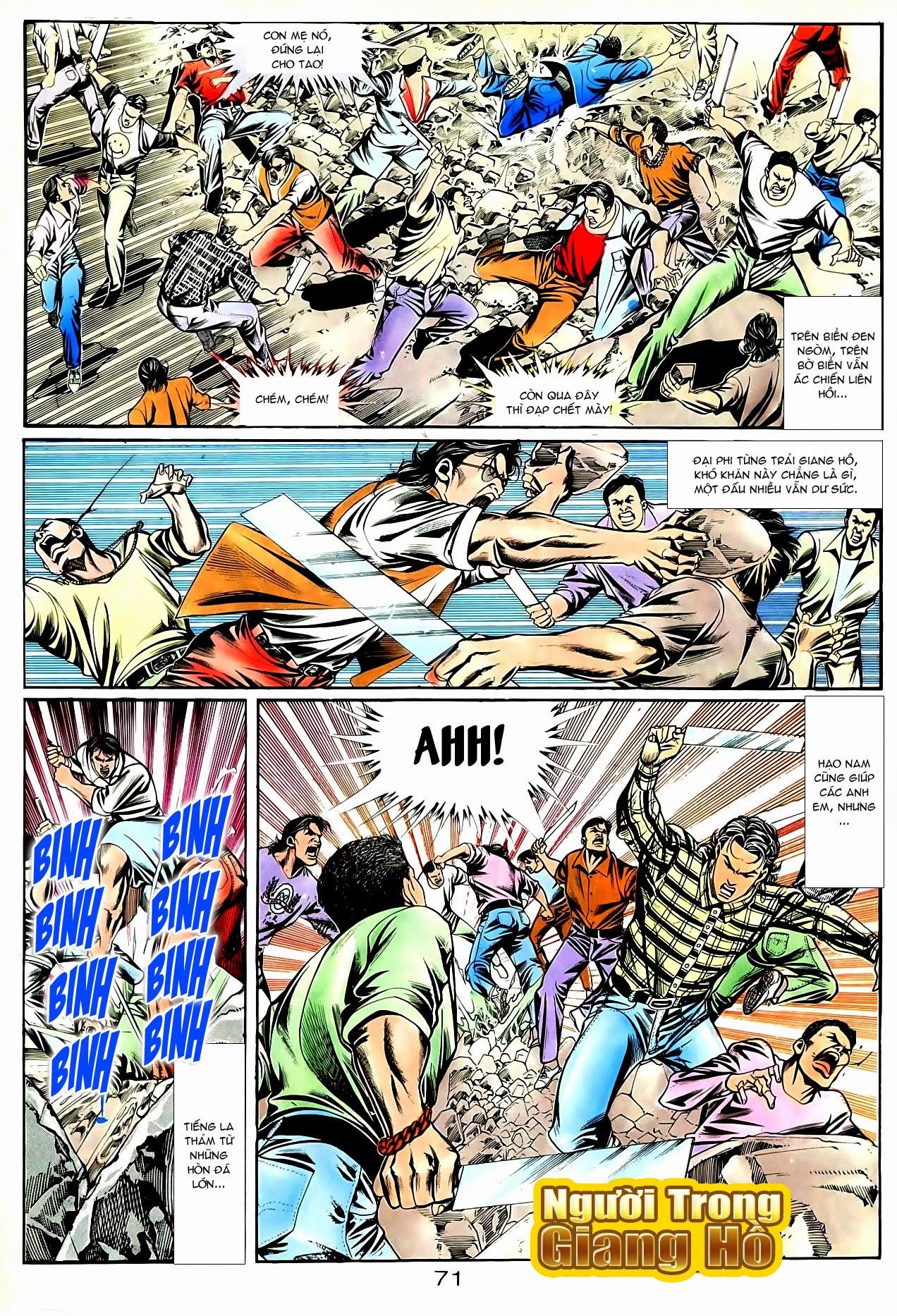 Người Trong Giang Hồ chapter 90: giang hồ hiểm trang 7
