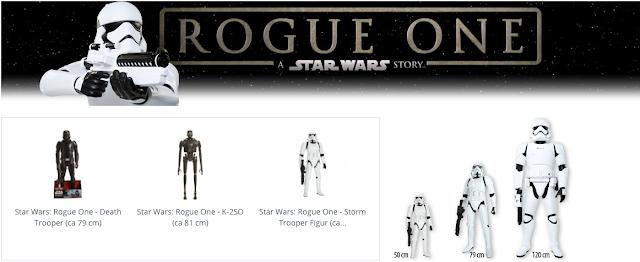Liebe Freunde von Star Wars™, jetzt wird es wieder episch mit JAKKS BIG FIGS Star Wars™ Rogue One.