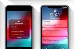 Daftar Perangkat Apple Untuk Update iOS 12