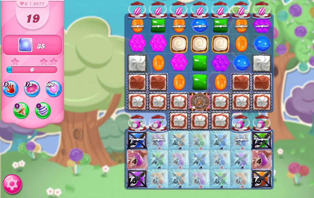 Candy Crush Saga level 6577