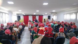 Confraternização dos idosos e cantata natalina das escolas reunidas do Limeira são realizadas em Picuí