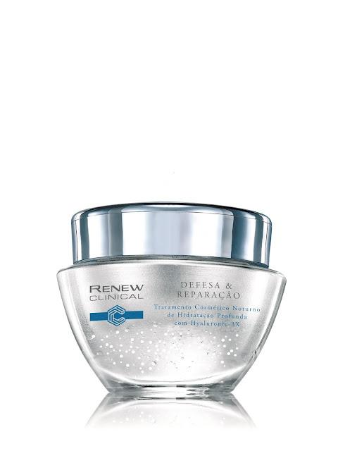 Renew Clinical Tratamento Cosmético Noturno de Hidratação Profunda R$86,90