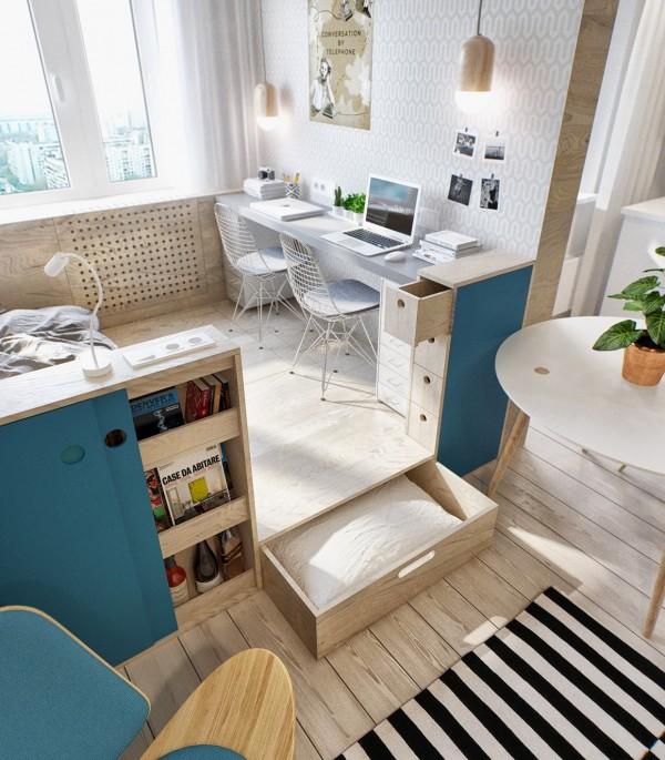 Inspiración para decorar una vivienda pequeña