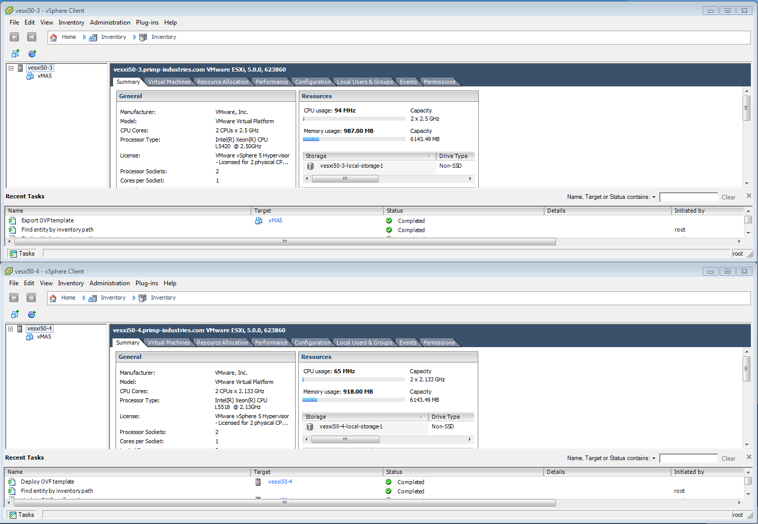 How to Copy VMs Directly Between ESXi Hosts Without Shared