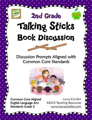 http://www.teacherspayteachers.com/Product/Talking-Sticks-Book-Discussion-2nd-Grade-CCSS-Aligned-323063