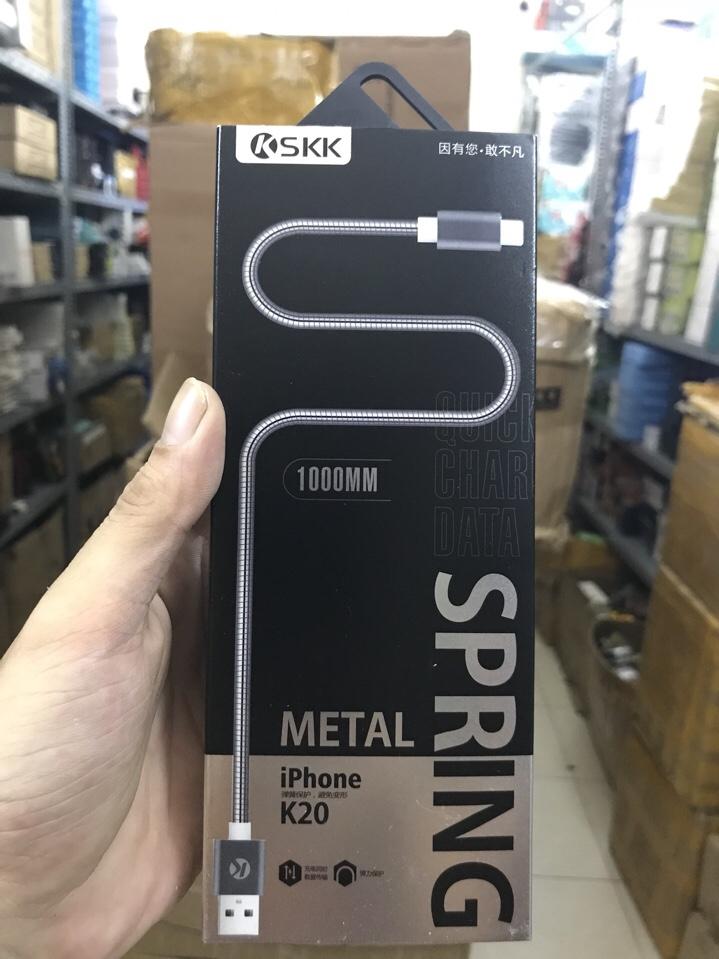 48k - Cáp sạc SKK K20 iPhone giá sỉ và lẻ rẻ nhất