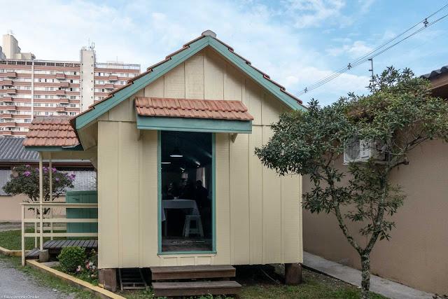 Vagão do Armistício - detalhe da lateral com porta