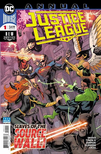 """Preview de """"Justice League Annual"""" núm. 1 de James Tynion IV y  Scott Snyder - DC Comics"""