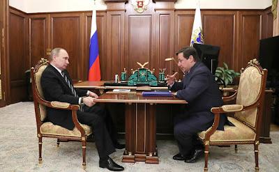 President Putin, Deputy Prime Minister Alexander Khloponin.