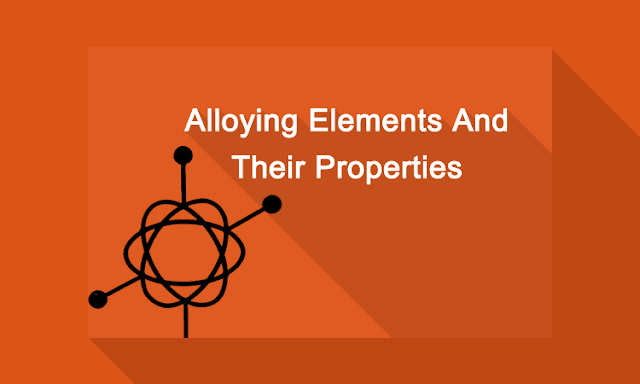 Effect of alloying element on steel image