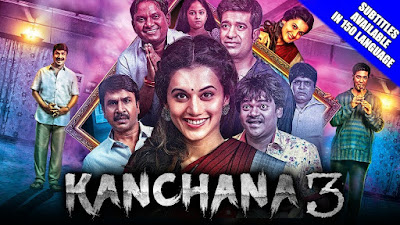 Kanchana 3 starred on YouTube, as soon as the full movie was released, number one in the trend