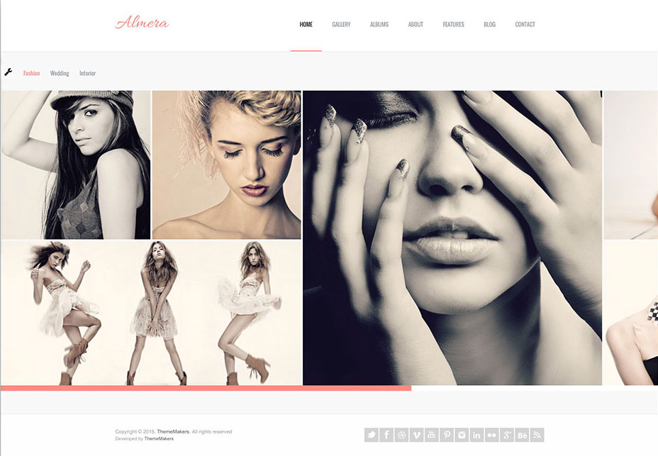 Almera | Modern Agency Portfolio WordPress Theme