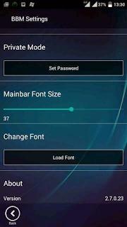 BBM MOD WP (Windows Phone) Transparan v2.7.0.23 APK