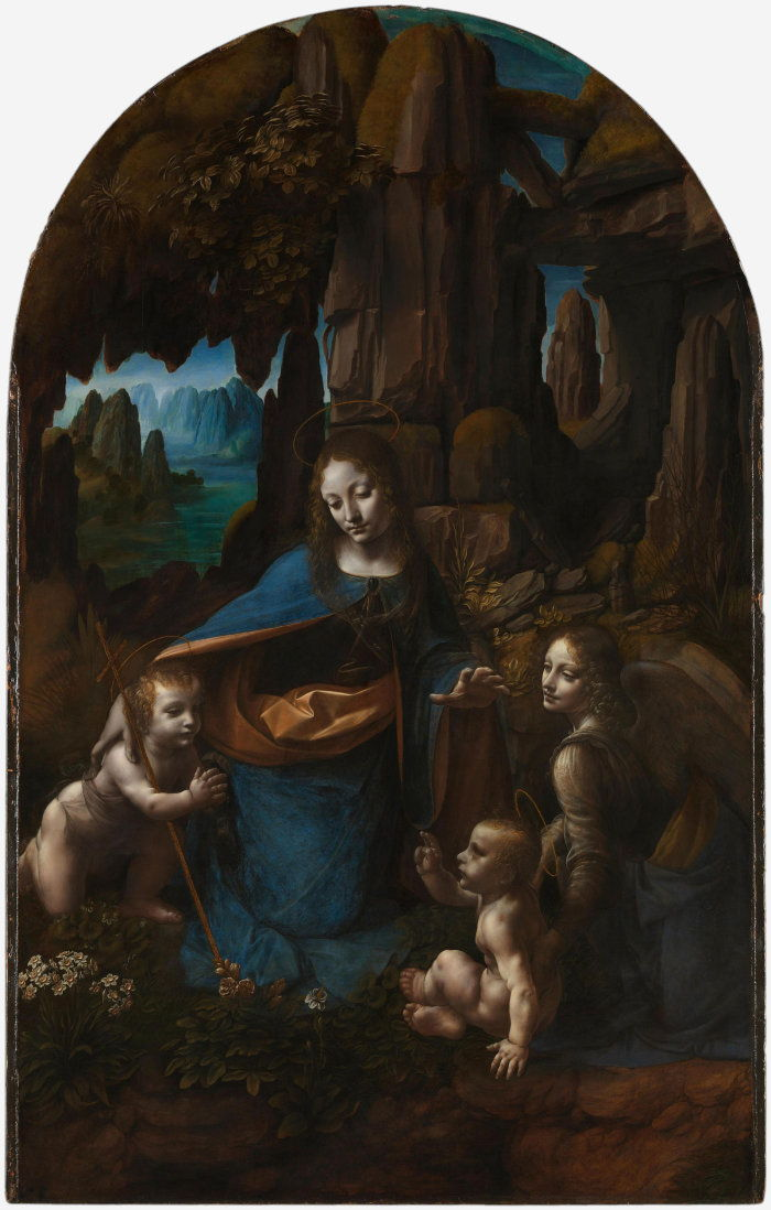 Леонардо да Винчи – Мадонна в скалах