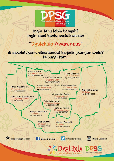 Dyslexia Parent Support Group  (DPSG) Indonesia