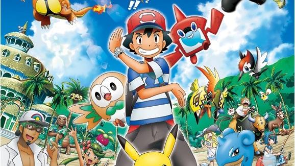 Resultado de imagem para pokemon sol e lua ash