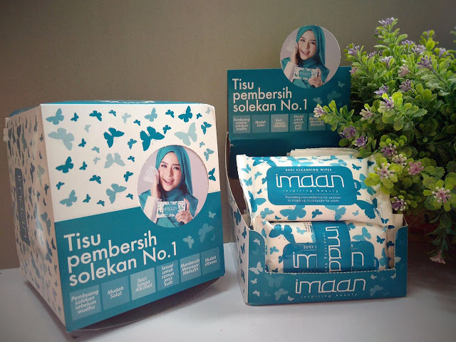 Review Makeup Remover IMAAN WIPES TISSUE