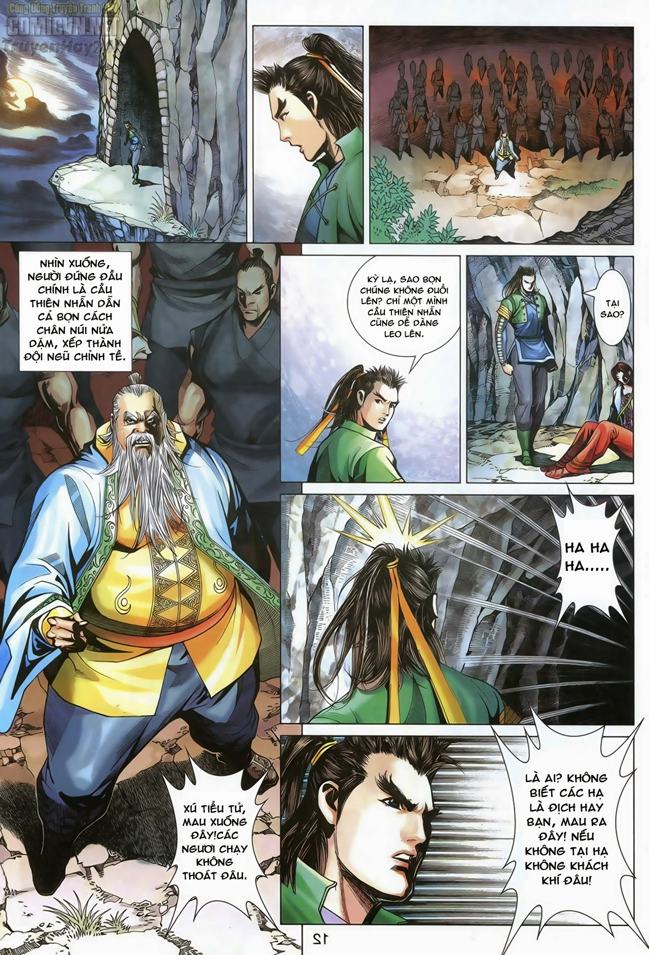 Anh Hùng Xạ Điêu anh hùng xạ đêu chap 69: hồn đoạn thiết chưởng phong trang 13