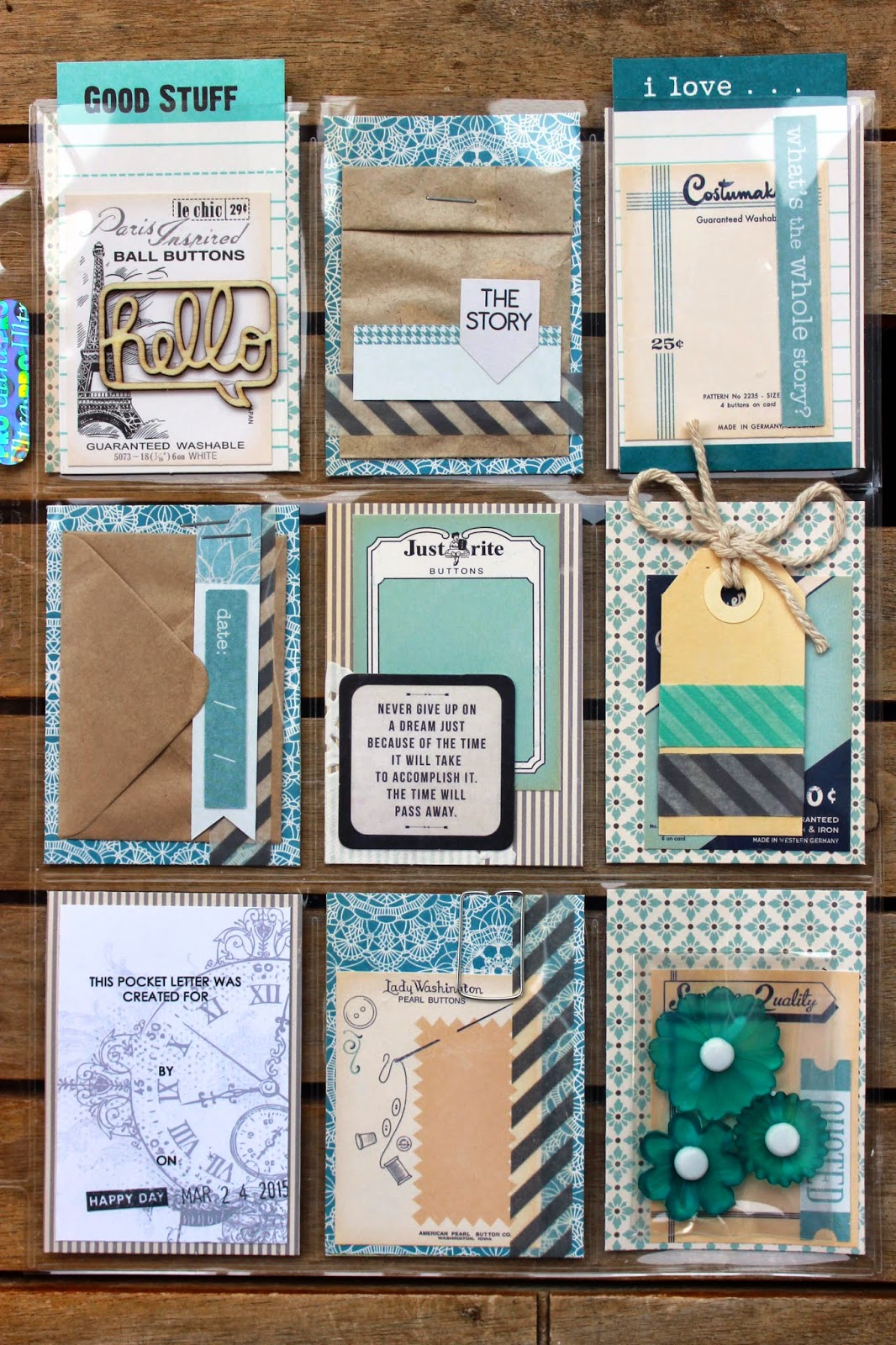 The Art Of Scrapbooking... Is the Art of Living!: Pocket ...