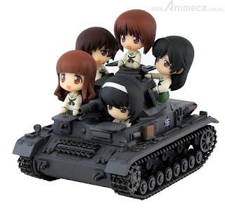 FIGURA Panzer IV Ausf. D Ending Ver. PairDot Girls und Panzer PIT-ROAD