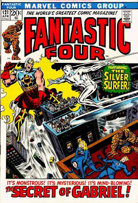 Fantastic Four #121, the Silver Surfer and Gabriel