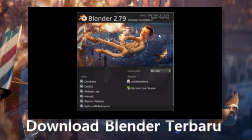 Download Blender terbaru
