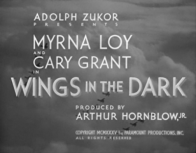 Wings In the Dark Title Card