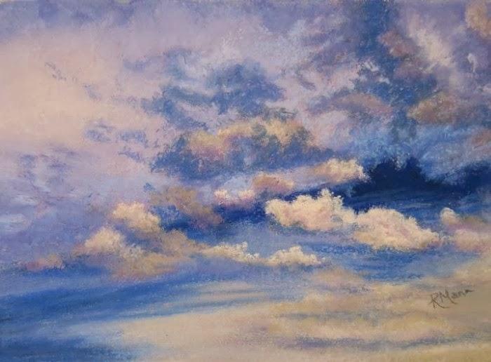 Пастельная живопись. Ruth Mann