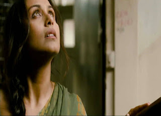 Rani Mukerji as Surjan's wife Roshni in Talaash, Directed by Reema Kagti