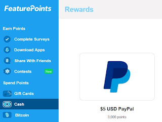 FeaturePoints, pago dinero Paypal