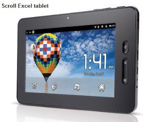 Scroll Excel tablet review