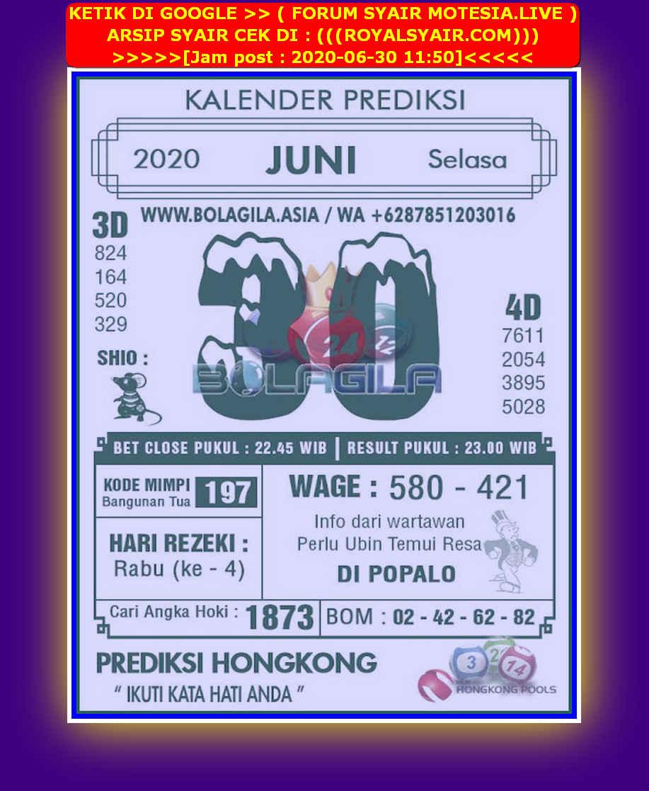 Kode syair Hongkong Selasa 30 Juni 2020 275