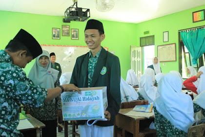 Siswa MA NU Al Hidayah Kudus galang donasi untuk warga Lombok