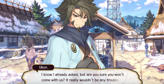 Utawarerumono: Mask of Deception presenta al mercenario único Ukon