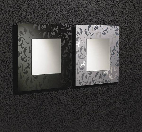 Dekorasi Dinding dengan Cermin Modern yang Menarik