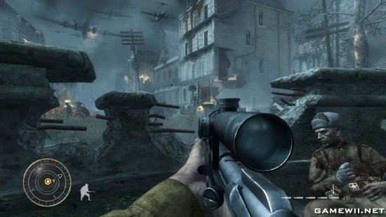 call of duty world at war level