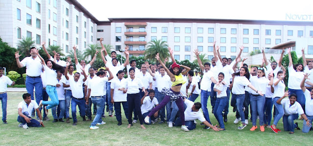 Team of Novotel Hyderabad Airport