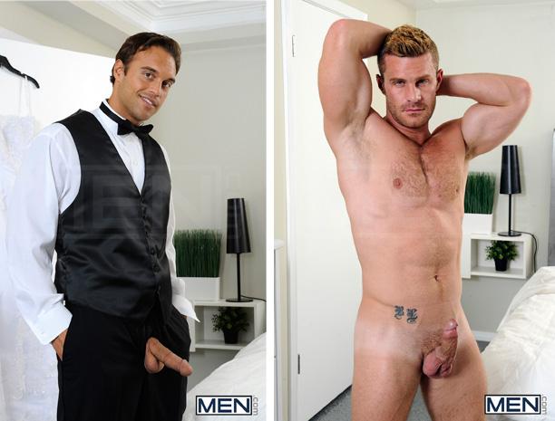 Hetero sendo metido Straight Porn Star Rocco Reed Bottoms Landon Conrad 2