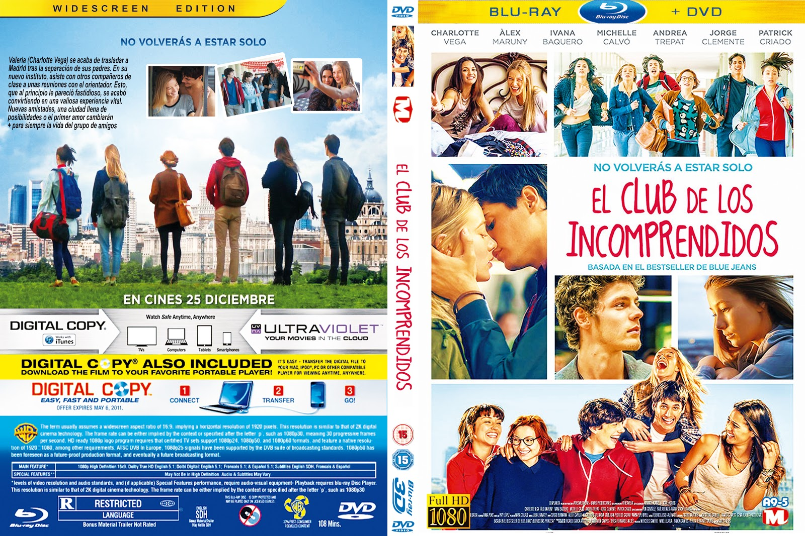 El Club Delos Incomprendidos Libro Cover El Club De Los Incomprendidos Dvd
