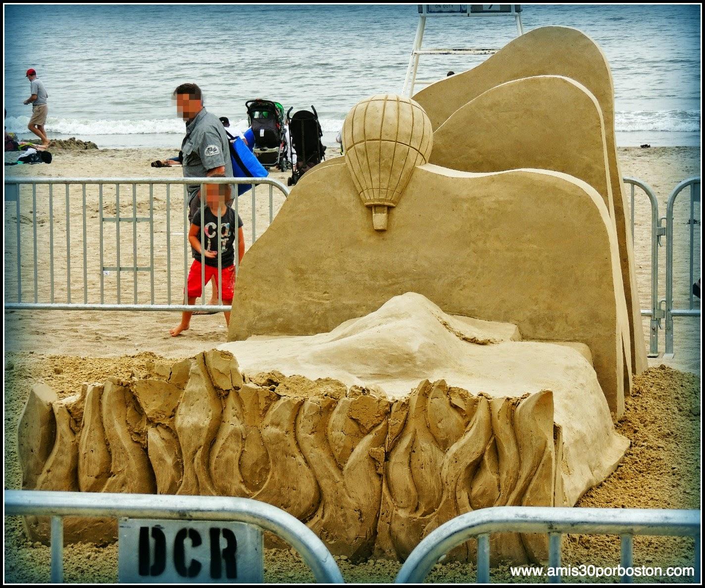 "Revere Beach 2014 National Sand Sculpting Festival: ""Crashed & Burned"""