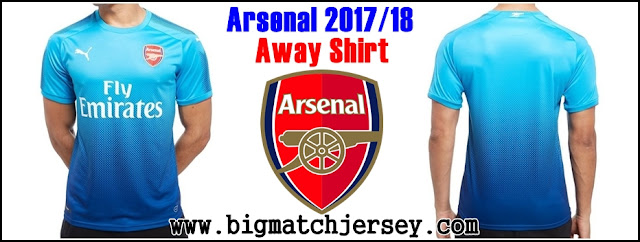 PUMA Arsenal FC 2017-18 Away Shirt